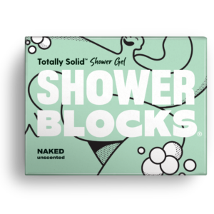shower blocks solid shower gel