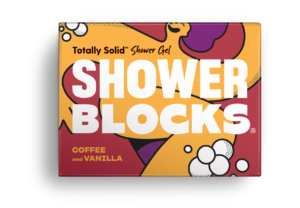 shower blocks, solid shower gel, naked shower gel, soap for the shower